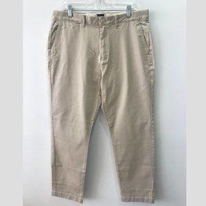 New Men's J. Crew Stretch Chino Pants 34 x 32